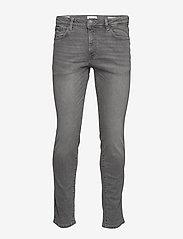 Selected Homme - SLHSLIM-LEON 3021 L.GREY ST JEANS W NOOS - slim jeans - light grey denim - 0