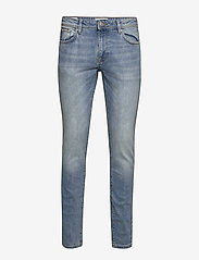 Selected Homme - SLHSLIM-LEON 3020 L.BLUE ST JEANS W NOOS - slim jeans - light blue denim - 0
