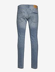 Selected Homme Leon Slim Jeans in Light Blue