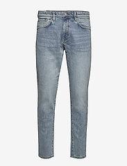 Selected Homme - SLHSLIMTAPE-TOBY 3020 LBLU ST JNS W - slim jeans - light blue denim - 0