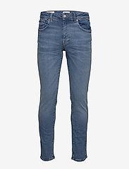 Selected Homme - SLHSLIM-LEON 6211 LBLUE SU-ST JNS W NOOS - slim jeans - light blue denim - 0