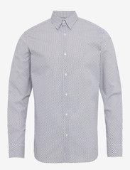 Selected Homme - SLHSLIMMICHIGAN SHIRT LS B NOOS - basic skjorter - white - 0