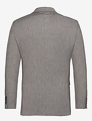 Selected Homme - SLHSLIM-MYLOBILL LT GREY STRC BLZ B NOOS - marynarki jednorzędowe - light grey melange - 1