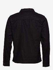 Selected Homme - SLHEAST LINEN OVERSHIRT W - chemises basiques - black - 1