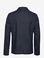 Selected Homme - SLHREG-DAVE LINEN HYBRID BLZ B - single breasted blazers - sky captain - 1