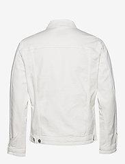 Selected Homme - SLHJEPPE 6221 OP WHITE ST DENIM JACKET W - denim jackets - white denim - 1