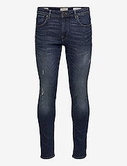 Selected Homme - SLHSLIM-LEON 3034 M.BLUE ST JEANS J NOOS - slim jeans - medium blue denim - 0