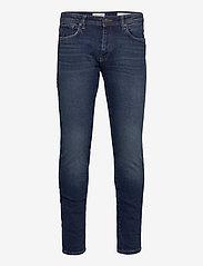 Selected Homme - SLHSLIM-LEON 3004 D.BLUE ST JEANS J - slim jeans - dark blue denim - 0