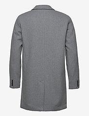 Selected Homme - SLHHAGEN  WOOL COAT B - wollen mantels - grey melange - 2