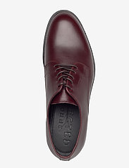 Selected Homme - SLHLOUIS LEATHER DERBY SHOE B - veterschoenen - chestnut - 3