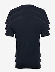 Selected Homme - SLHNEWPIMA SS O-NECK TEE B 3 PACK - multipack - navy blazer - 1