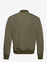 Selected Homme - SLHPLASTIC CHANGE BOMBER JKT W - bomberjacks - dusty olive - 1
