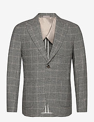 Selected Homme - SLHSLIM-DEVIN BLZ B - single breasted blazers - grey - 0