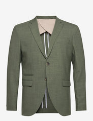 Selected Homme - SLHSLIM-OASIS LIGHT GREENLZ - single breasted blazers - shadow - 0