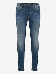 Selected Homme - SLHSLIM-LEON 6266 M.B SU-ST JEANS U - skinny jeans - medium blue denim - 0