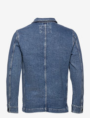 Selected Homme - SLHJACKSON 8022 M.BLUE DENIM JACKET U - spijkerjassen - medium blue denim - 1
