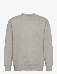 Selected Homme - SLHJASON340 CREW NECK SWEAT S - sweats - light grey melange - 0