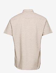 Selected Homme - SLHREGNEW-LINEN SHIRT SS CLASSIC W - koszule w kratkę - crockery - 1