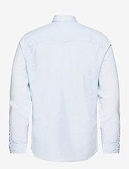 Selected Homme - SLHSLIMNEW-LINEN SHIRT LS CLASSIC W - chemises à carreaux - skyway - 1