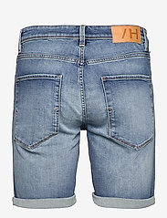 Selected Homme - SLHALEX 672 M. BLUE SU-ST DENIM SHORTS U - jeansowe szorty - medium blue denim - 1