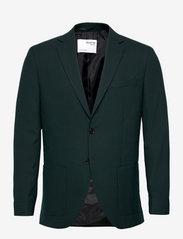 Selected Homme - SLHSLIM-JACKBILL DARK GREEN BLZ B - blazers met enkele rij knopen - dark green - 0