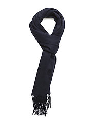 SLHTOPE WOOL SCARF B - DARK NAVY