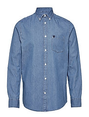 Collect shirt ls r  NOOS H - LIGHT BLUE DENIM