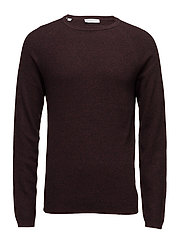 SHDSHANE CREW NECK - DECADENT CHOCOLATE