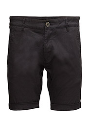 SLHSTRAIGHT-PARIS BLACK SHORTS NOOS W - BLACK