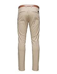 SLHSLIM-YARD WHITE PEPPER PANTS W NOOS