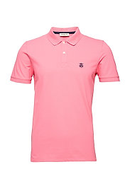 SHDARO SS EMBROIDERY POLO NOOS - BUBBLEGUM