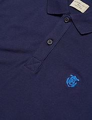 Selected Homme - SHDARO SS EMBROIDERY POLO NOOS - kortærmede - peacoat - 2