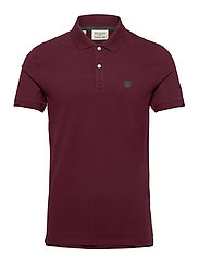 SHDARO SS EMBROIDERY POLO NOOS - PORT ROYALE