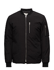 SHXBOMBER JACKET - BLACK