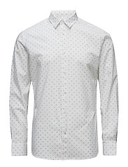 SHDONEWICK SHIRT LS - BRIGHT WHITE