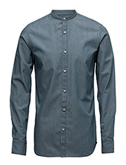 SHNONEROBERT SHIRT LS - BLUE INDIGO