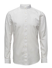 ABONEMAO-CHAMBRAY SHIRT LS - BRIGHT WHITE