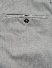 Selected Homme - SLHSLIM-MYLOLOGAN LIGHT GREY TRS B NOOS - suitbukser - light grey melange - 4