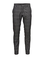 SHDONE-MYLODRAKE2 GREY CHECK TRS NOOS - MEDIUM GREY MELANGE