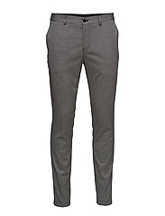 SHDSKINNY-MATHSAUL LT. GREY TROUSER NOOS - LIGHT GREY MELANGE