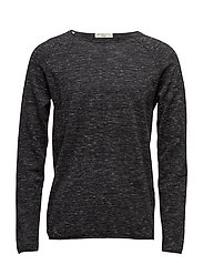 SHXCLASH CREW NECK - PIRATE BLACK