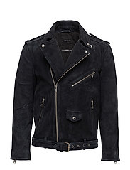 SHXNICO SUEDE LEATHER JACKET - VULCAN