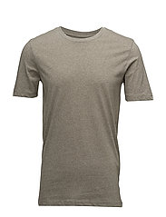 SLHTHEPERFECT TWIST SS O-NECK TEE B NOOS - VETIVER