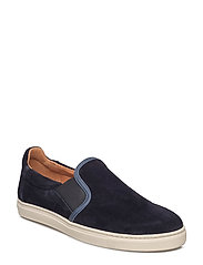 SHNDAVID NEW SUEDE SLIPON - DARK NAVY