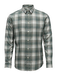 SHHONEFRANKIE SHIRT LS CHECK - LAUREL WREATH