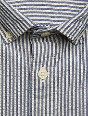 Selected Homme - SHHTWOOLIVER SHIRT LS SEERSUCKER - chemises business - blue aster - 2