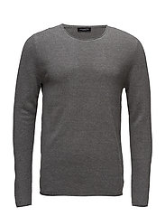 SLHROCKY CREW NECK B NOOS - MEDIUM GREY MELANGE