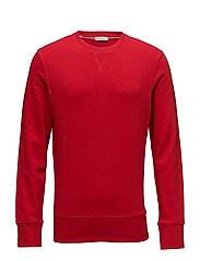 SLHCALEB CREW NECK SWEAT W - BARBADOS CHERRY