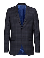 Selected Homme SLHSLIM-MYLOCREED NAVY CHECK BLZ B NOOS - NAVY BLAZER