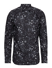 SLHSLIMROSE SHIRT LS DIGITAL B - BLACK